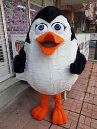 penguen maskotu maviş